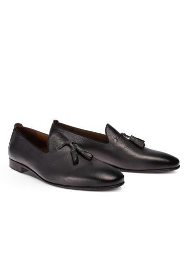 Deery Ayakkabı Hakiki Deri Gri